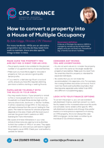 How to convert a property into an HMO