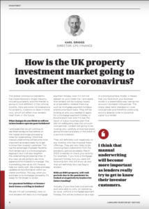 National Landlord Investment Show Magazine - Karl Griggs article